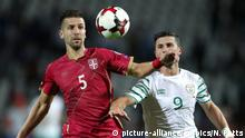 WM Qualifikation 2018 Serbien Matija Nastasic