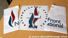 Frankreich Umbenennung Front Natinal -> Rassemblement National Logo