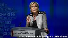 Marine Le Pen Rassemblement National