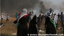 Gazastreifen Ausschreitungen Grenze Israel Frauen