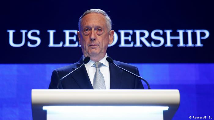Singapur Jim Mattis IISS Shangri-la Dialog (Reuters/E. Su)