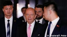 USA China US-Handelsminister Wilbur Ross zu Besuch in Peking