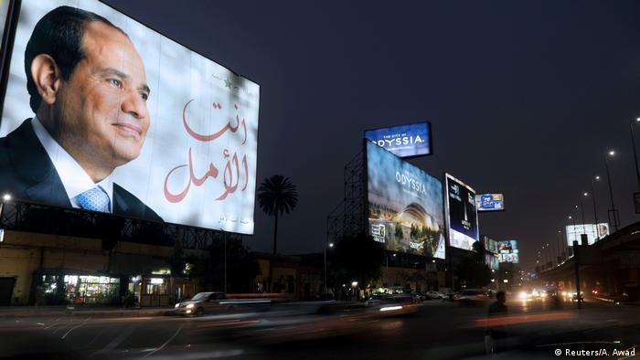 Präsident Abdel Fattah al-Sisi (Reuters/A. Awad)