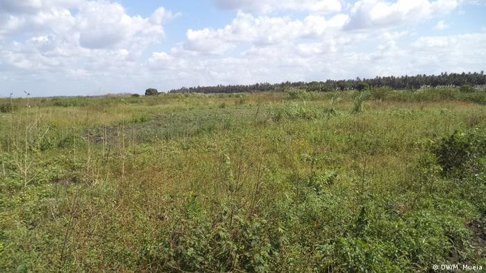 Povoado de Matamba, também envolvido em projeto de extração da areia pesada