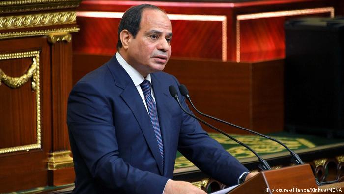 Ägyptens Präsident al-Sisi für zweite Amtszeit vereidigt (picture-alliance/Xinhua/MENA)