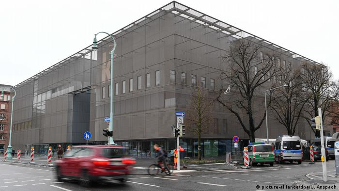 New building of the Kunsthalle Mannheim (picture-alliance/dpa/U. Anspach)