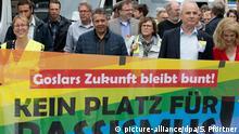Demonstration gegen Naziaufmarsch in Goslar