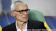 Hector CuperTrainer der ägyptischen Fußball-Nationalmannschaft