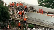 Deutschland   20. Jahrestag Bahnunglück Eschede