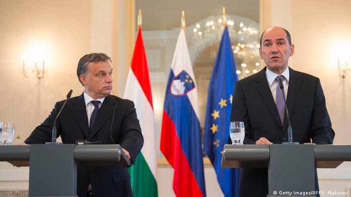 Viktor Orban i Janez Janša