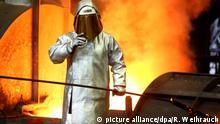 US-Strafzölle - ThyssenKrupp Stahlarbeiter NEU