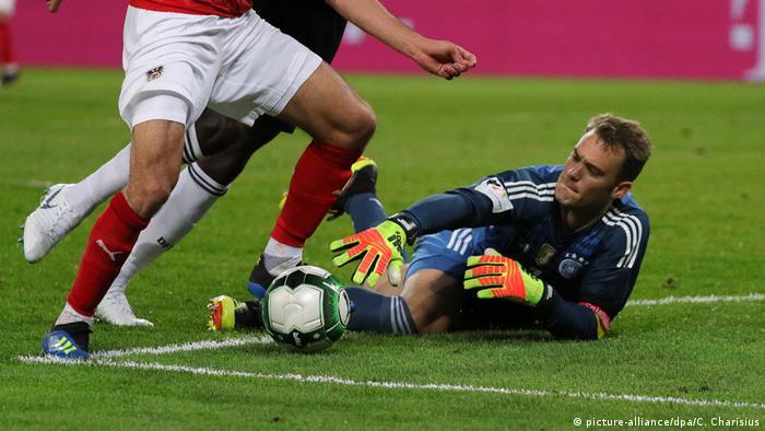 Fußball Länderspiel Deutschland - Österreich (picture-alliance/dpa/C. Charisius)
