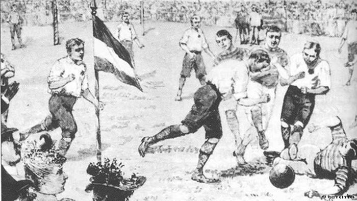 Illustration of game Dresden vs. Berlin, 1892