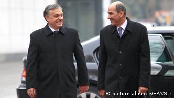 Viktor Orban ve Janez Jansa