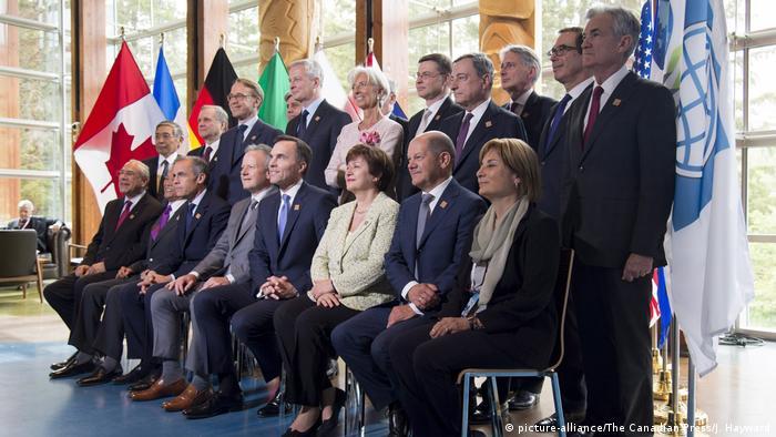 Kanada Whistler Treffen der G7 Finanzminister (picture-alliance/The Canadian Press/J. Hayward)