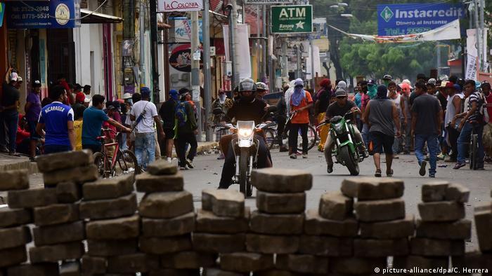 Nicaragua Masaya gewaltsame Proteste (picture-alliance/dpa/C. Herrera)