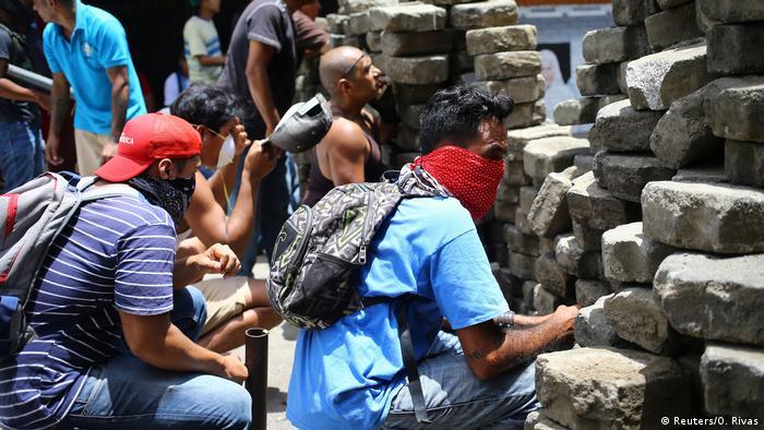 Nicaragua Masaya gewaltsame Proteste (Reuters/O. Rivas)