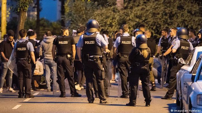 Police in Darmstadt
