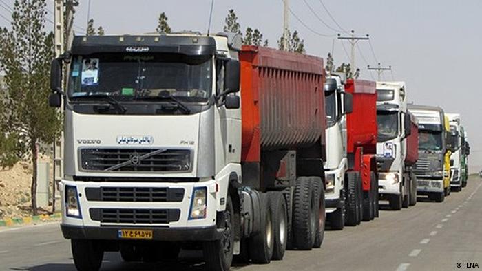 Iran LKW-Fahrer Streik (ILNA)