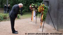Steinmeier bittet um Vergebung für Unrecht an Homosexuellen
