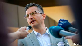 Slowenien Parlamentswahl Marjan Sarec