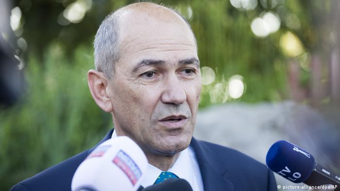 Slowenien Parlamentswahl Janez Jansa