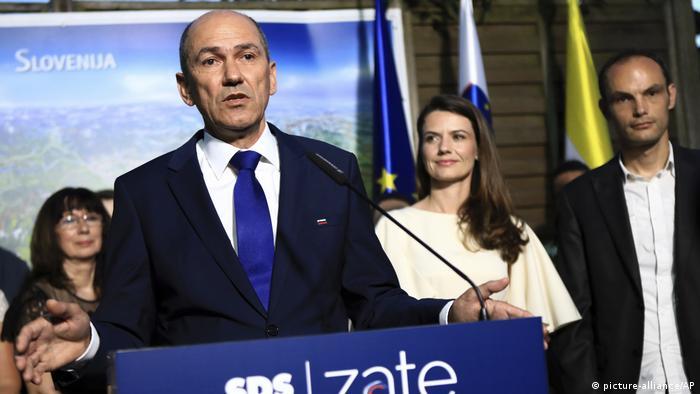 Slovenya Demokrat Partisi lideri Jansa