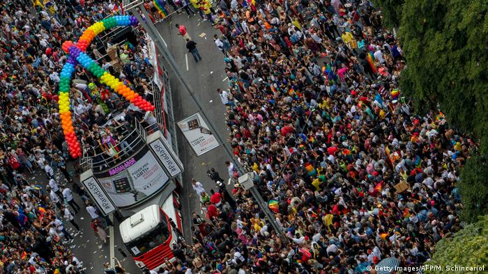 Brasilien Sao Paolo Gay Pride Parade (Getty Images/AFP/M. Schincariol)