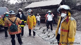 Guatemala Vulkanausbruch Feuervulkan