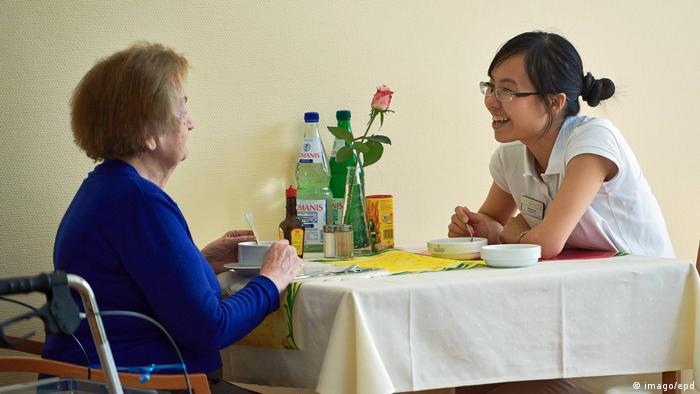 Deutschland Pflegekäfte aus dem Ausland
