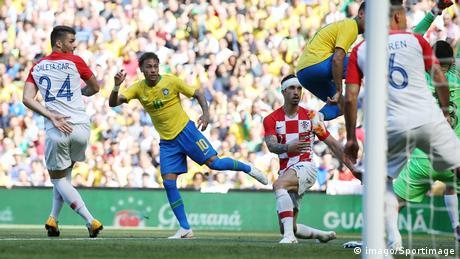 Fußball Länderspiel Brasilien - Kroatien (imago/Sportimage)