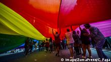 Brasilien LGBT Pride Parade in Sao Paulo
