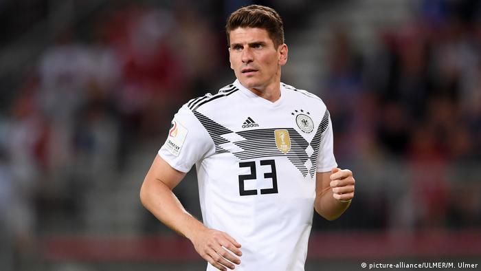 Mario Gomez Announces International Retirement Sports German Football And Major International Sports News Dw 05 08 2018
