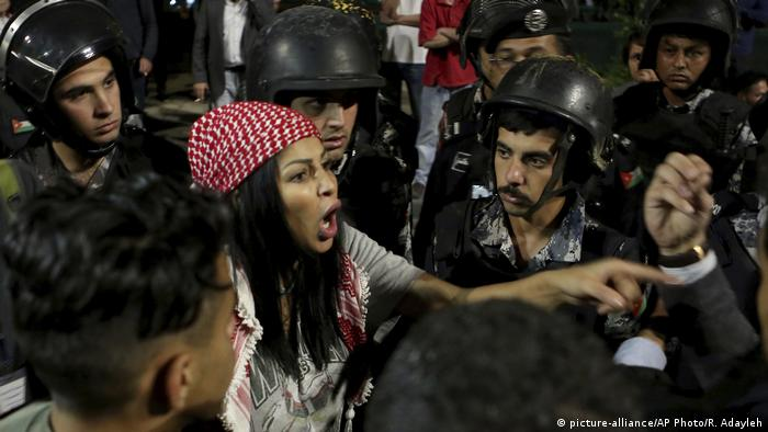 Jordanien Proteste (picture-alliance/AP Photo/R. Adayleh)
