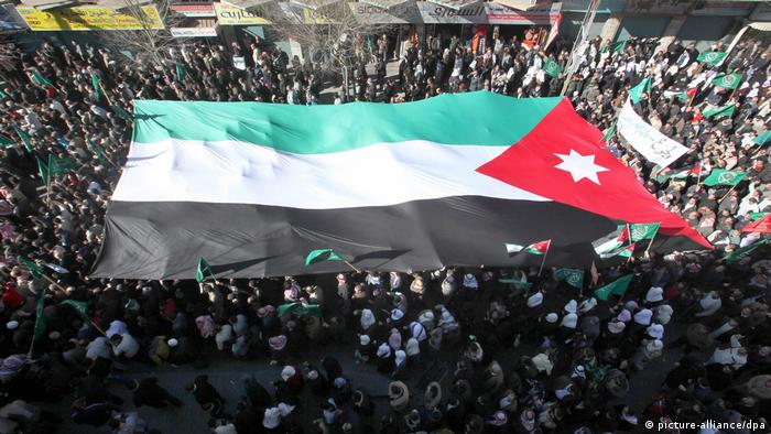 Jordanien Proteste (picture-alliance/dpa)