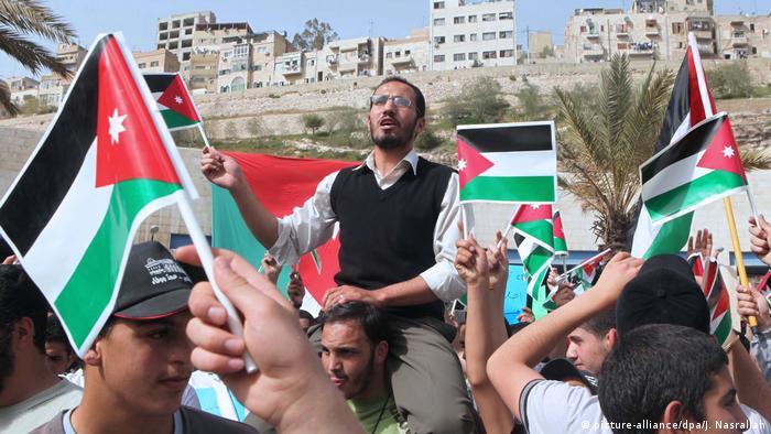 Jordanien Proteste (picture-alliance/dpa/J. Nasrallah)