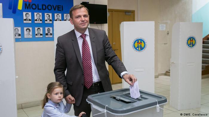 Republik Moldau Bürgermeisterwahlen Andrei Năstase (DW/E. Covalenco)