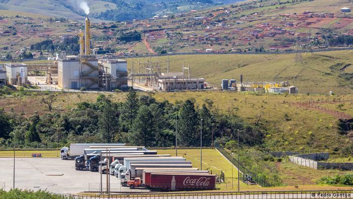 fd3c8873f Fábrica da Coca-Cola em Itabirito, na região metropolitana de Belo Horizonte