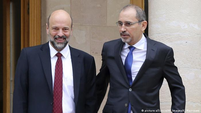 Ayman Safadi und Omar Ahmad Munif Al Razzaz