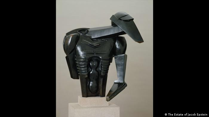 "Jacob Epstein (1880-1959) Torso in Metal from ""The Rock Drill"""