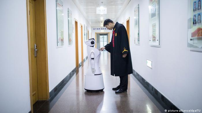 AI artificial Intelligence Künstliche Intelligenz in China (picture-alliance/dpa/TU)