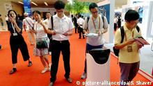 AI artificial Intelligence Künstliche Intelligenz in China (picture-alliance/dpa/S. Shaver)