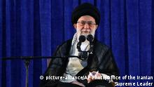 Iran Ali Chamene'i, religiöser Führer (picture-alliance/AP Photo/Office of the Iranian Supreme Leader)