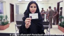 Saudi-Arabien erste Frauen mit Führerschein