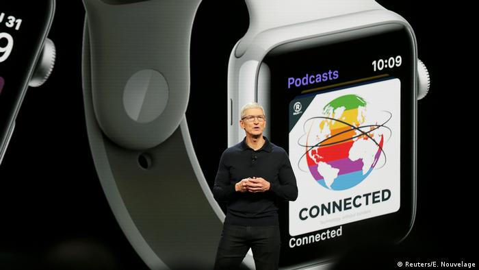 Apple Konferenz in San Jose, Kalifornien | CEO Tim Cook (Reuters/E. Nouvelage)
