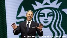USA Starbucks-CEO Howard Schultz
