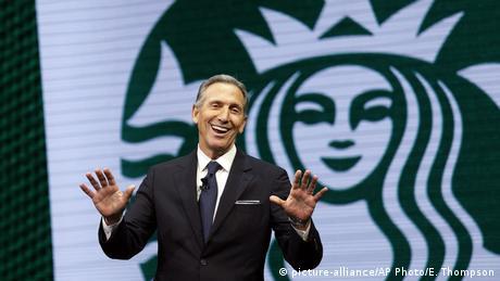 USA Starbucks-CEO H(picture-alliance/AP Photo/E. Thompson)