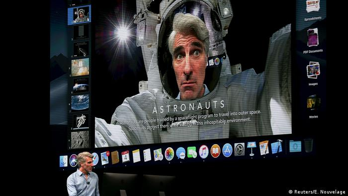 USA Apple Konferenz in San Jose, Kalifornien | CEO Tim Cook (Reuters/E. Nouvelage)