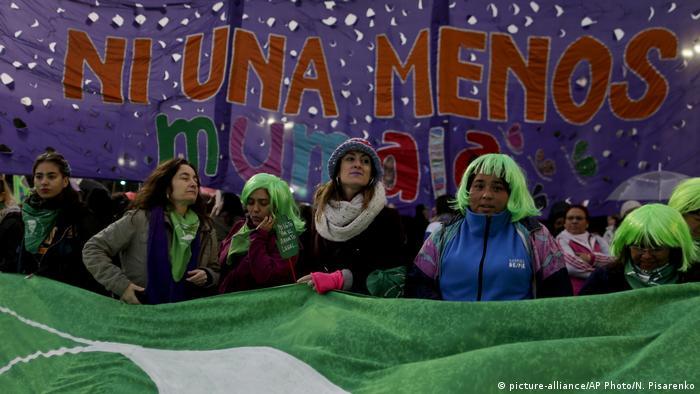 Argentinien Frauenprotest