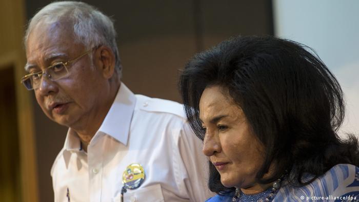 Najib Razak und Rosmah Mansor (picture-alliance/dpa)